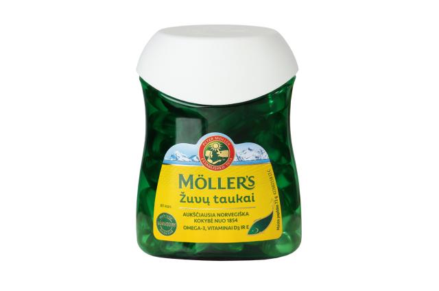 Mollers kapsulės