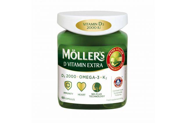 Mollers vit D extra žuvų taukai