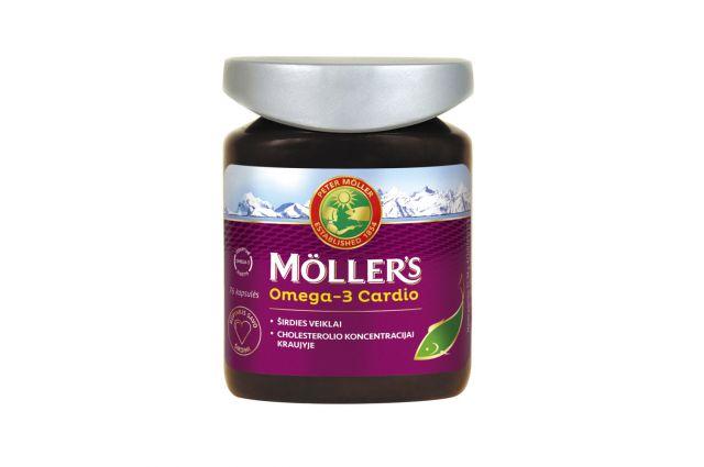 Mollers Cardio žuvų taukai