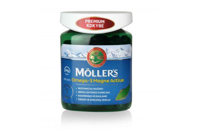 Mollers Active Magnis žuvų taukai