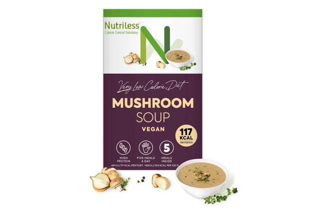 Nutriless grybų sriuba
