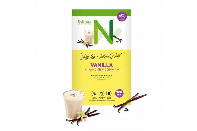 Nutriless vanilinis kokteilis