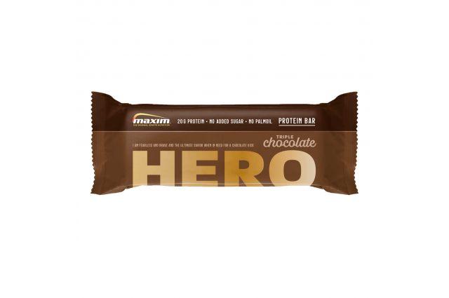 MAXIM HERO šokoladinis baltymų batonėlis