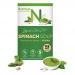 Nutriless špinatų sriuba