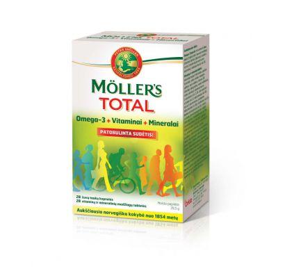 Mollers Total žuvų taukai