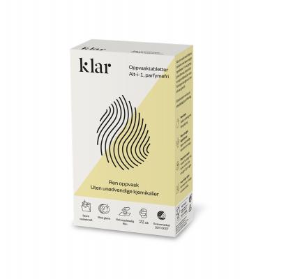 KLAR indaplovių tabletės