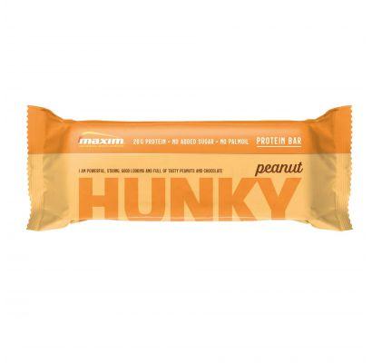MAXIM HUNKY baltymų batonėlis su riešutais