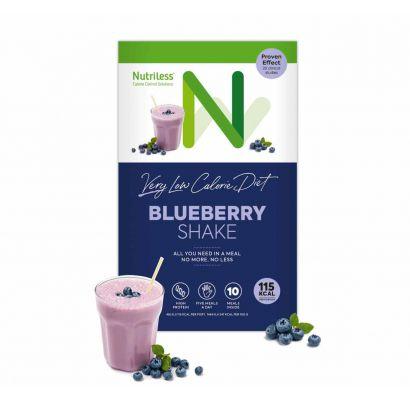 Nutriless mėlynių kokteilis