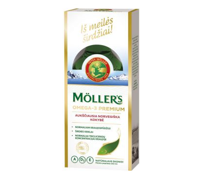 Mollers Premium skysti žuvų taukai