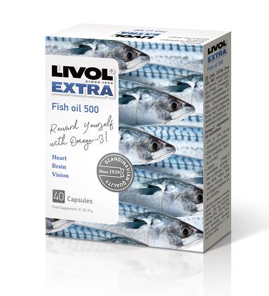 Livol žuvų taukai