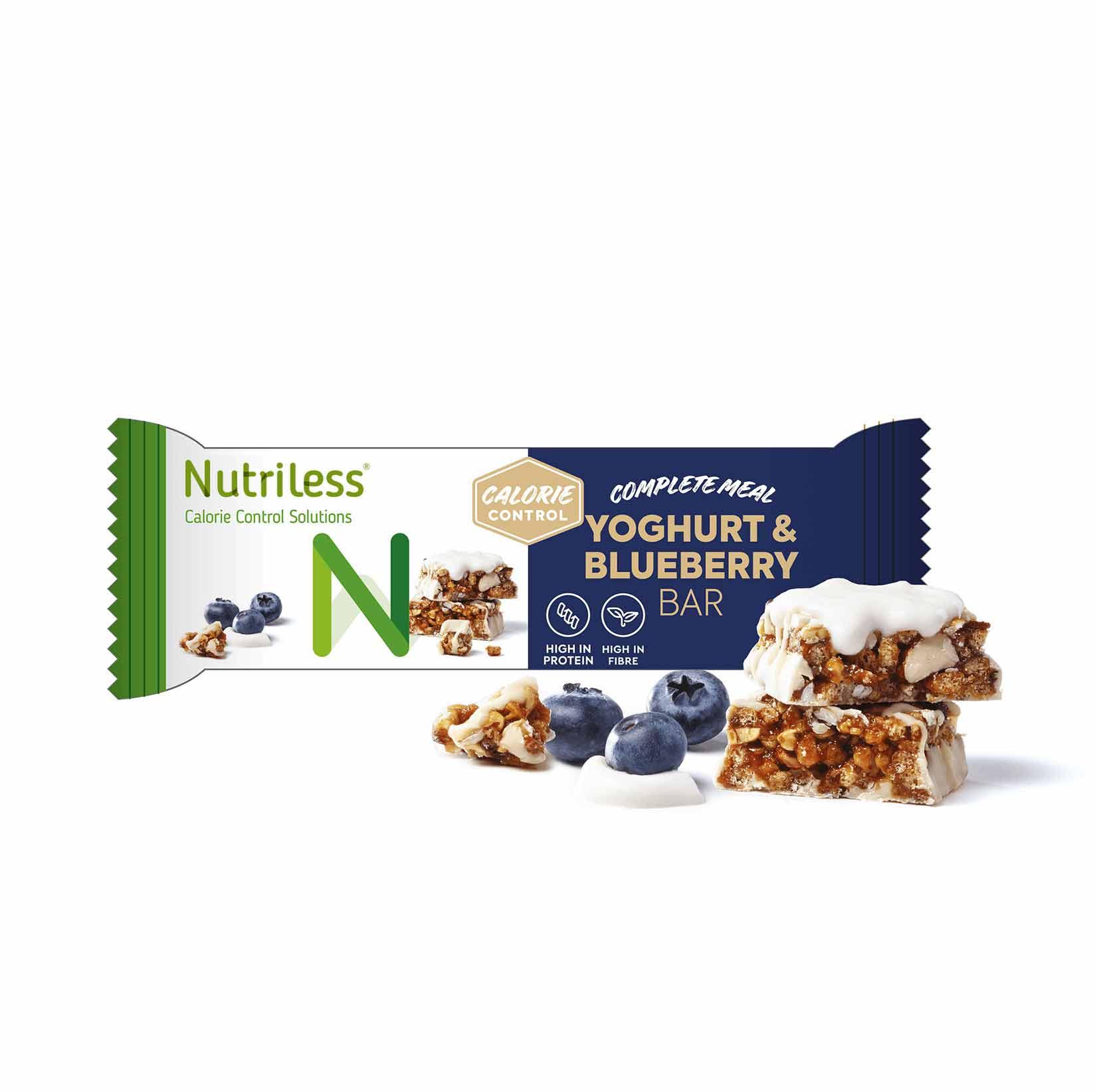 Nutriless jogurto mėlynių skonio batonėlis